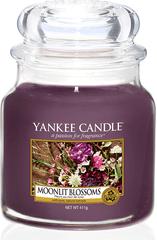 Yankee Candle Yankee gyertya MOONLIGHT BLOSSOM Közepes gyertya 411 g
