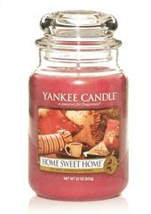 Yankee Candle Yankee gyertya HOME ÉDES HÁZ Nagy gyertya 623 g