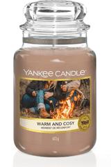 Yankee Candle Yankee gyertya Meleg és barátságos Nagy gyertya 623 g