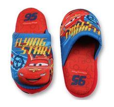 """SETINO Chlapčenské papuče na doma """"McQueen"""" - červená"""