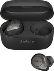 Jabra Elite 85t bežične slušalice, crne