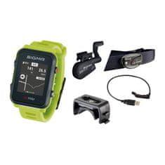 Sigma iD.TRI SET multisportovní hodinky - neon zelená