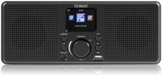 Technaxx internetowe radio stereo (TX-153), czarne