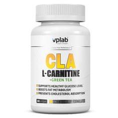 VPLAB CLA & L-Carnitine + Green Tea, 60 kapsula