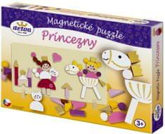 DETOA puzzle magnetyczne Księżniczki