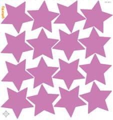 GEKONKY Hvězdy světle fialové