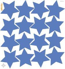 GEKONKY Hvězdy modré