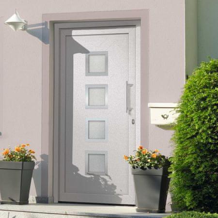 shumee Drzwi wejściowe zewnętrzne, białe, 88 x 200 cm