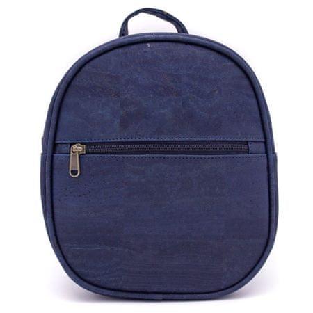 CORK Modni nahrbtnik iz plute - Navy blue