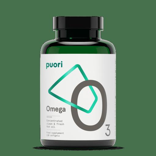 Puori O3 - vysoko koncentrované a čisté kapsule rybieho oleja