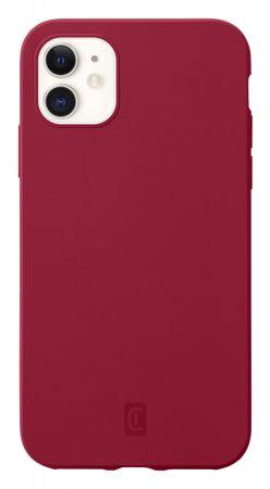 CellularLine Sensation ovitek za iPhone 12 Mini, silikonski, rdeč