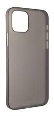 FIXED Ultratenký kryt Peel pre Apple iPhone 12/12 Pro, 0,3 mm, dymový FIXPE-558-SM