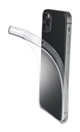 CellularLine FINE ovitek za iPhone 12/12 Pro, transparentni