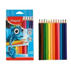 Maped 12tsv ołówki pulse jumbo plastiku