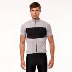 Northfinder Pánske tričko cyklistické merino melanžové JUDAH