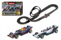 Conquest Autodráha Carrera GO!!! 62524 Racing Heroes 5,3m + 2 formule