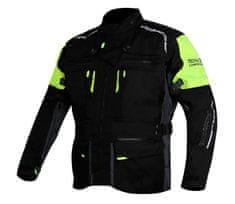 TRILOBITE bunda 2091 Rideknow Tech-Air black/yellow fluo