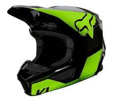 FOX detská helma Yth V1 Revn, Ece fluo yellow