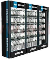 Oxford prezentační stěna Premium Advanced s rastrem pro drátový program, sestava 3ks, OXFORD (ŠxVxHL = 2840x2290x550 mm) PC5000 3 piece modul