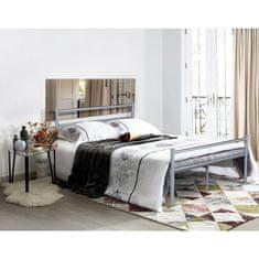 IDEA nábytek nábytek Dvoulůžko OSLO 140x200 kov