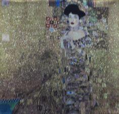 Metrax Craye Belgium  Gobelín Tapisérie - Gold Adel Gustav Klimt