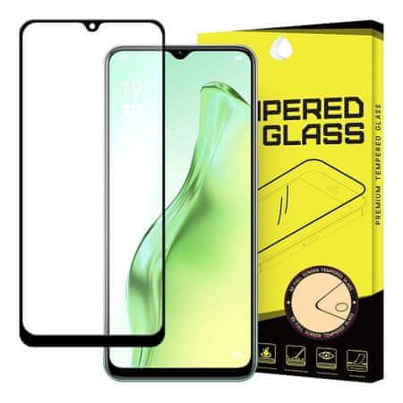 MG Full Glue Super Tough zaščitno steklo za Oppo A31, črna