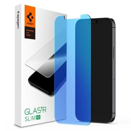 Spigen Glas.Tr Slim zaščitno steklo za iPhone 12 / 12 Pro