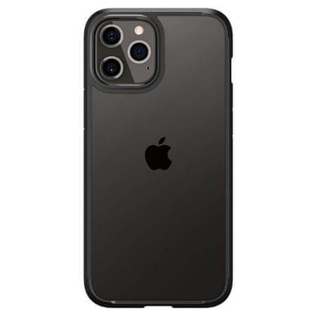 Spigen Ultra Hybrid szilikon tok iPhone 12 Pro Max, fekete