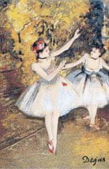 Metrax Craye Belgium  Gobelín Tapisérie - Dve baletky Edgar Degas