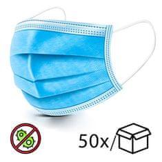 LocoNatura Zaščitna maska (3-slojna) za obraz - 50 kosov