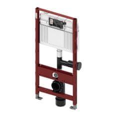 Tece TECEprofil- Inštalačný modul s nádržkou UNI pre WC, s pripojením pre odsávanie zápachu, výška 1,12m, 9300003