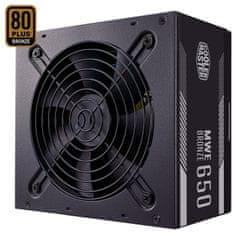Cooler Master MWE 650 Bronze - V2 napajanje, 650 W, 80 PLUS Bronze, ATX