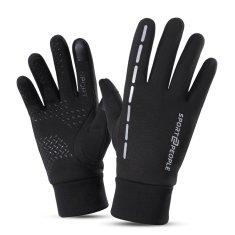 Sport2People Zimske sportske rukavice, crne