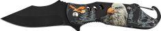 Ausonia sklopivi nož, s aluminijskom ručkom, motiv orla (26384)