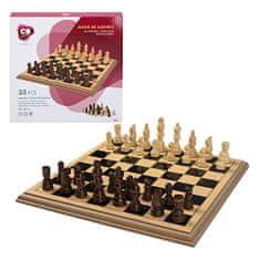 SELIS drveni šah, 30 x 30 cm