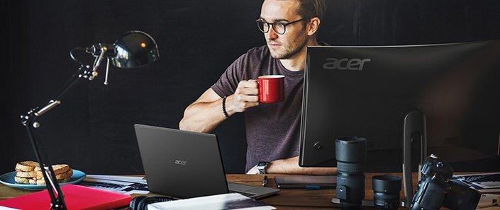 Acer Aspire 5 notebook pro rodinnou zábavu blue light shield snížení únavy