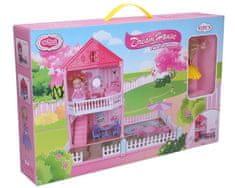 Wiky Domček pre bábiky so záhradou 42x34x50cm