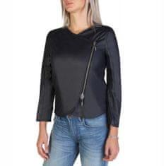 Armani Jeans Modrá dámská bunda Armani Jeans na zip - 42