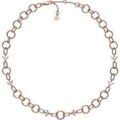 Emporio Armani Luxus aranyozott nyaklánc 5407949 ezüst 925/1000