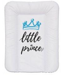 Nellys Přebalovací podložka, měkká, Little Prince, 70 x 50 cm, bílá