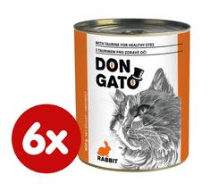 Dibaq DON GATO konzerva kočka králík 6x850 g