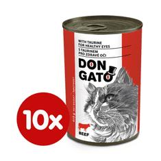 Dibaq DON GATO konzerva kočka hovězí 10x415 g