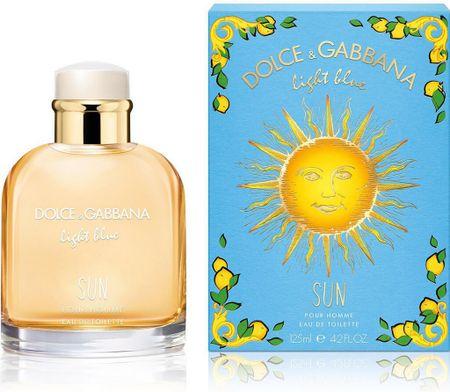 Dolce & Gabbana Light Blue Sun Pour Homme EDT toaletna vodica s sprejem, 75 ml
