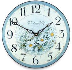 Isabelle Rose Nástěnné hodiny Les Marguerites 15 cm