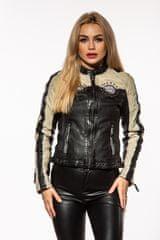 Gipsy Černá dámská kožená bunda GGPATTIE