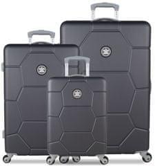 SuitSuit Sada cestovních kufrů SUITSUIT® TR-1226/3 ABS Caretta Cool Grey
