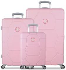SuitSuit Sada cestovních kufrů SUITSUIT® TR-1231/3 ABS Caretta Pink Lady