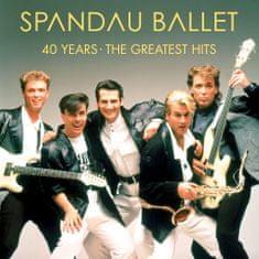 Spandau Ballet: 40 Years - The Greatest Hits (2x LP) - LP