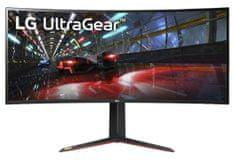 LG 38 UltraGear WQHD+ Nano IPS gaming monitor (38GN950-B)