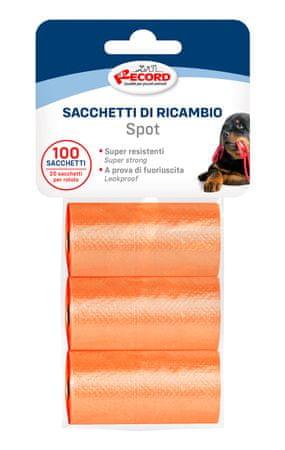 RECORD vreće za pseći izmet, 27,5 x 30 cm, 3x 20 vrećica